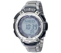 Casio Men's PAW1100T-7V Pathfinder Altimeter and Barometer Solar Atomic Digital Watch