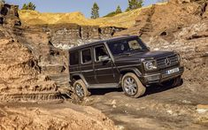 Download wallpapers Mercedes-Benz G-Class, 2019, 4k, new SUV, brown new G-Class, Mercedes