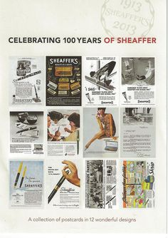 Sheaffer celebrates its 100th year in 2013