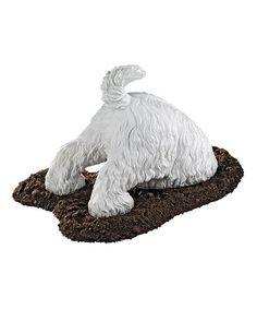 Another great find on #zulily! Highland Terrier Digging Dog Figurine #zulilyfinds