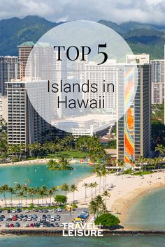 Travel + Leisure ranked Hawaii's islands to find the top 5. Are you planning a trip to Hawaii? Look no further to find your beautiful dream vacation! #Hawaii #Islands #Travel #Vacation #Top5 #WorldsBest #IslandTravel | Travel + Leisure - The Top Islands in Hawaii