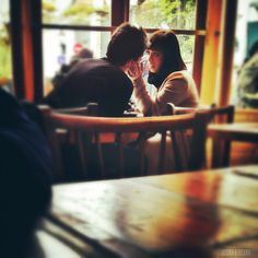 Love in a Paris Cafe