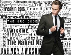 How I met your mother: Barney Stinson the one and only
