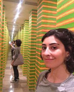 WEBSTA @ feraybkn - Infinite selfie 👍🏻 #selfie #selfietime #infinite #artistic #museum#krakow #poland #modernart #photooftheday #instagramers #travelgram