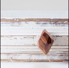 Meubelknoppen - Kast knoppen en hendels. Walnoot. Lade knop - Een uniek product van La-Luz-Del-Bosque op DaWanda