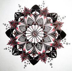 Мандала (орнаментал, дотворк) - татуировка фото и эскиз от тату-мастера Алиса Горностаева в стиле , ,