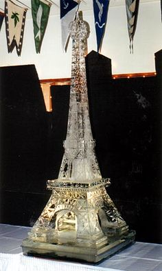 Eiffel Tower - Ice Sculpture