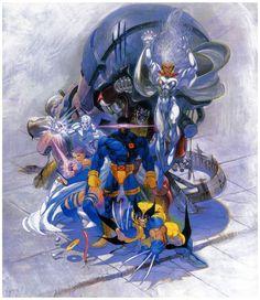 X-MEN: Children of the Atom SEGA Saturn Cover - Bengus