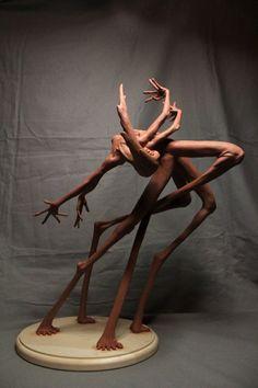 Matthew J. Levin's Mutating Statuettes | Hi-Fructose Magazine