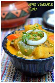 A food blog with Indian vegetarian recipes clearly explained using step by step pictures which helps even first timers to cook with ease.