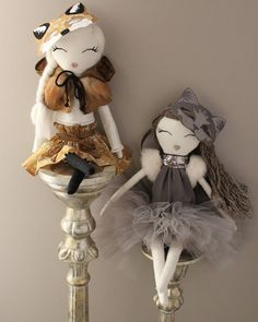 Wild Rose dolls, Heirloom doll, cloth doll, fabric doll, doll décor, doll, nursery styling, nursery décor, nursery inspo.