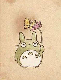 TOTORO is my favorite lol besides howls moving castle
