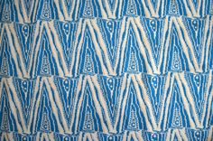 Vintage Abstract Material One and a quarter Yards Uncut Fabric