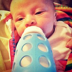 """Along comes #Lifefactory – BPA free, glass and silicone sleeved bottles for babies."" #GoGlass"