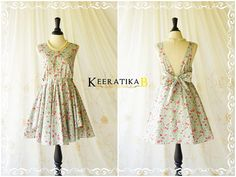 A Party V Charming Dress Floral Party by LovelyMelodyClothing