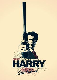 dirty harry gun poster