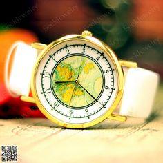 only 149 mens watches world maps watch unisex maps wristwatch vintage women wrist watch
