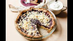 Áfonyás joghurtos pite l Lila füge Camembert Cheese, Acai Bowl, Dairy, Breakfast, Desserts, Food, Acai Berry Bowl, Morning Coffee, Tailgate Desserts