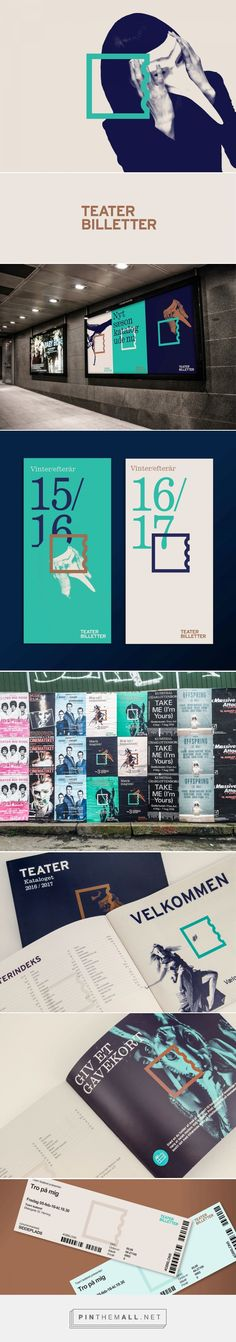 Teaterbilletter on Behance - created via https://pinthemall.net