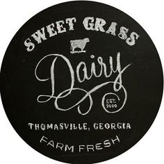 Sweet Grass Dairy, Thomasville GA.