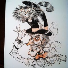 The Mad Hatter & The Chesire Cat