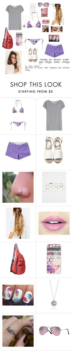 """""""Caterina's Style 9"""" by simplyvanner on Polyvore featuring Tatjana Anika, Acne Studios, J.Crew, Full Tilt, Johnny Loves Rosie, Fiebiger, Kavu, BlissfulCASE, Myia Bonner and REGALROSE"""