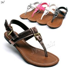 Sandals. These look comfy!