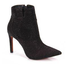 Ankle Boots Feminina Carrano - Preto - Passarela.com