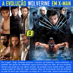 A evolução de Wolverine em X-Man