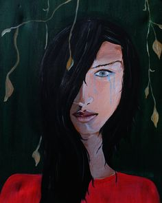 #Girl in #pain #hidden #beauty Hidden Beauty, Painting & Drawing, Drawings, Art, Kunst, Sketches, Art Background, Draw, Gcse Art