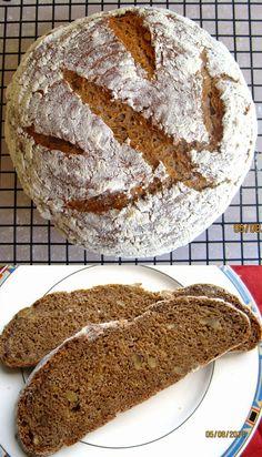 Einkorn-Walnuss-Joghurt-Brot