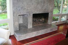 Venetian Plaster Over Brick | Venetian Plaster Fireplace