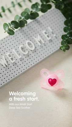 Welcomes are always mad exciting! ✨ Maybe you are welcoming a new family member soon? 😍 Whatever your plans may be – with our little MAM Start Soother they'll work out smoothly for sure. 😊 Baby Supplies, Orthodontics, Deep Sea, Mad, Products, Baby Swag, Gadget