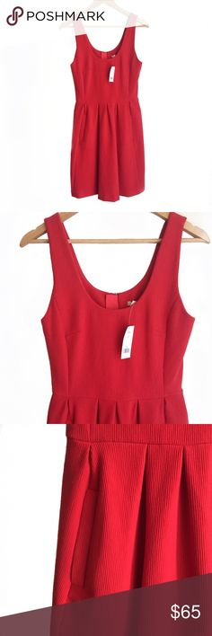 ❤️NWT• B a n a n a R e p u b l i c • D r e s s•Sz6 NWT Red Banana Republic dress Sz 6 Banana Republic Dresses
