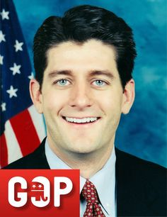 U.S. REPRESENTATIVE (AGE 43): Ryan became the highest-ranking GOP Congressional legislator on the economy after being elected as chair of the House Budget Committee, and in the process, establishing himself as one of the party's leader. The following year, Rep. Ryan was selected by Republican presidential nominee Mitt Romney as his running mate for the 2012 presidential election. Despite Gov. Romney's subsequent defeat at the hands of President Barack Obama, Rep. Ryan emerged from the encounter.