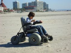 Free beach wheelchairs in San Diego makes the beach more accessible for special needs families, there are seven San Diego beaches that have beach chair programs: Coronado, Imperial Beach, Ocean Beach, Oceanside, La Jolla Shores, Mission Beach and Silver Strands.  These beaches have manual and/or powered beach wheelchairs to use for an hour at a time at no charge.  Yes free, my favorite price.  When you visit one of these beaches simply go to the lifeguard station and ask to use a beach…