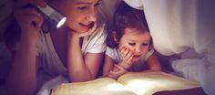 Fünf Gründe, weshalb Gute-Nacht-Geschichten eure Kinder fördern