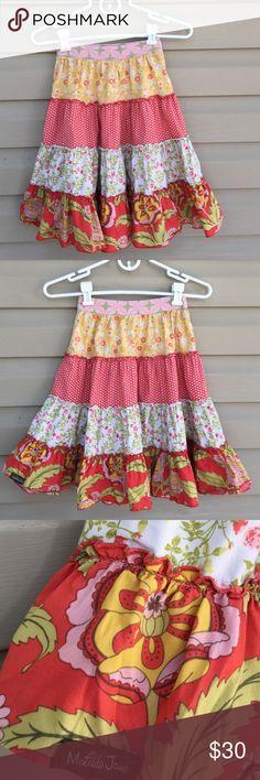 Serendipity by Matilda Jane girls skirt Twirly girls cotton skirt multi design with elastic waistband serendipity Bottoms Skirts