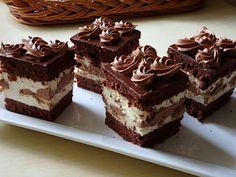 Zsuzsa ízutazásai.: Tejszínkrémes-narancsos csokikocka. Cake Cookies, Cupcakes, Cold Desserts, Hungarian Recipes, Chocolate, Diy Food, Tiramisu, Food And Drink, Cooking Recipes