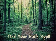 A few new spells for the white witch, like this one to help you find your path in life. #wicca #witchcraft