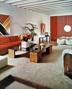 Living room, 1976