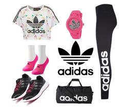 sport ALL ADIDAS💓 by anabella-novello on Polyvore featuring polyvore fashion style adidas Originals adidas clothing