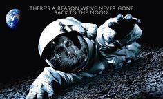 Por que o Homem nunca Mais Retornou a Lua? Avisados por Alienígenas, para não Retornar?