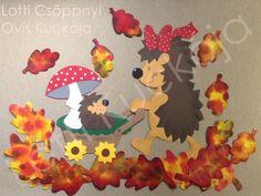16 csodás kép egy őszi ablakdekorációról - Óvó néni.blog.hu September Art, September Crafts, Easy Paper Crafts, Diy And Crafts, Crafts For Kids, Autumn Decorating, Fall Decor, School Doors, Class Decoration