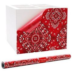 Tecido adesivo Panoah Bandana Vermelha