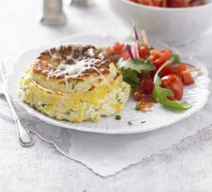 Twice=baked Cheese Souffles  - bbcgoodfood.com