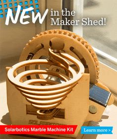 New in the Maker Shed: Marble Machine