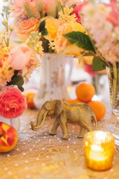 instead of table numbers, make brass animals, and have each escort card have a stamp of the animal. love this idea! (and the table) Diy Wedding Planner, Southern Curls And Pearls, Wedding Decorations, Table Decorations, Wedding Ideas, Safari Decorations, Wedding Inspiration, Boho Wedding, Dream Wedding