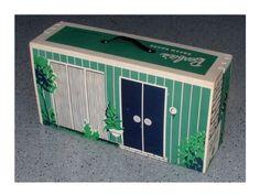 barbie cardboard doll house circa 1966 | 1962 – 1965 #816 Barbie's Dream House – 1962 Commercial + 1962 ...