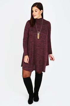 Missguided Plus Size Lace up Dress, A casual black dress is ...
